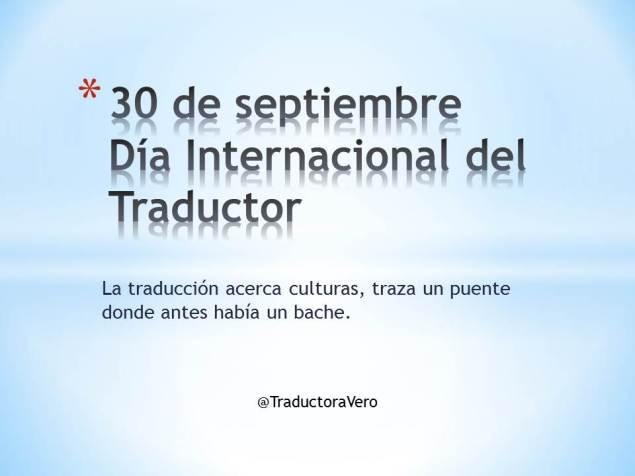 Día Internacional del Traductor