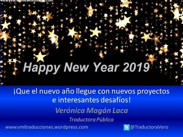 Mensaje año nuevo para 2019 blog